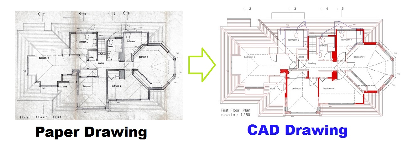 Conversion-Paper-to-CAD-Drawing