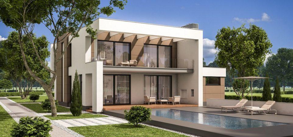 French Villa 3D Exterior